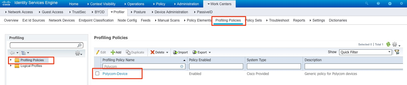 Building a Policy to Profile Polycom IP Phones in ISE 2 3 – A